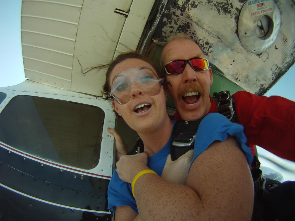 Wichita Tandem Skydiving Jump