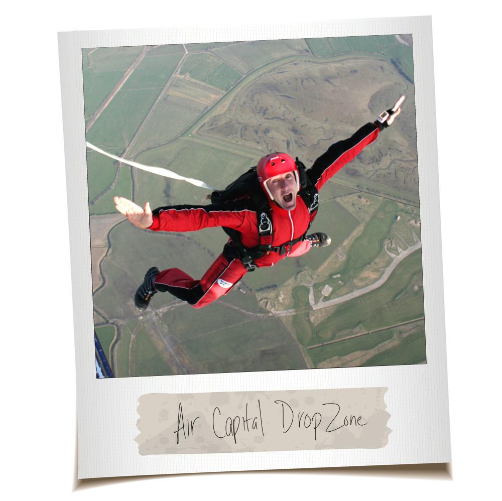 Wichita Solo Skydiving Jump