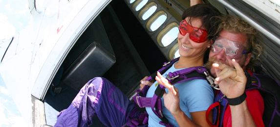 Baltimore Tandem Skydiv Jump