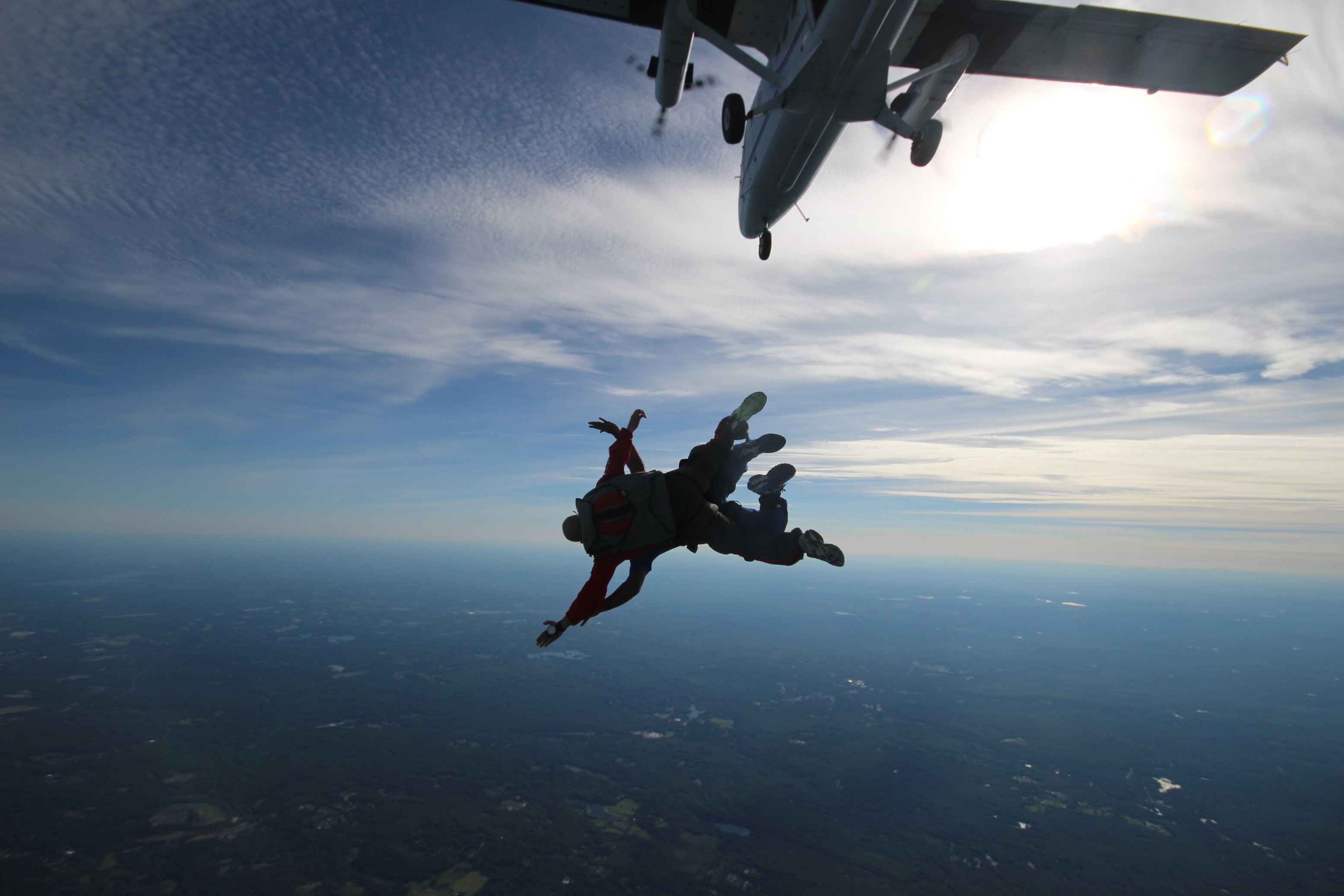 First Time Skydiving At Pepperell
