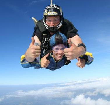 Tandem Skydiving in Boston
