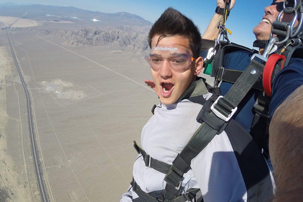 Las Vegas Tandem Skydive