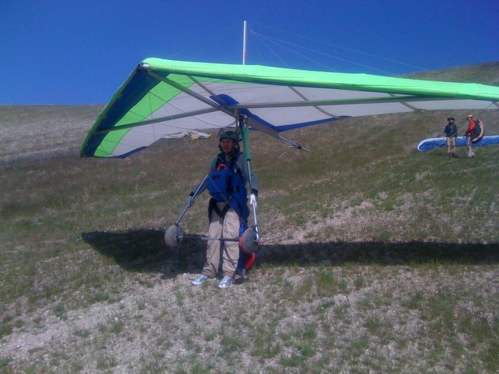 The Birdman Beginner Hang Gliding Lesson