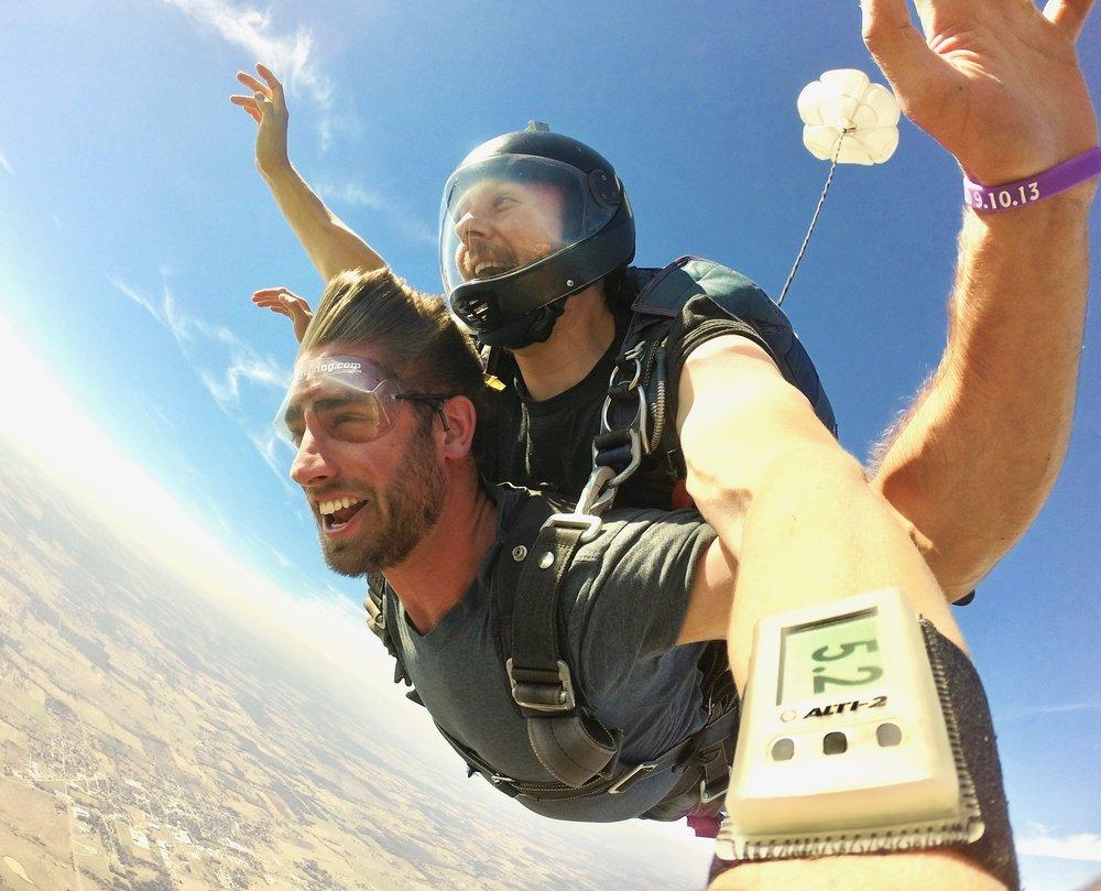 Austin Tandem Skydiving