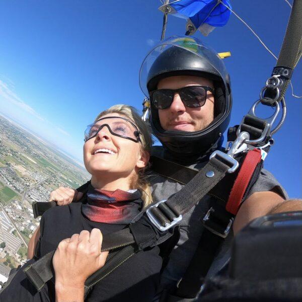 Tandem Skydiving with Skydive Ogden