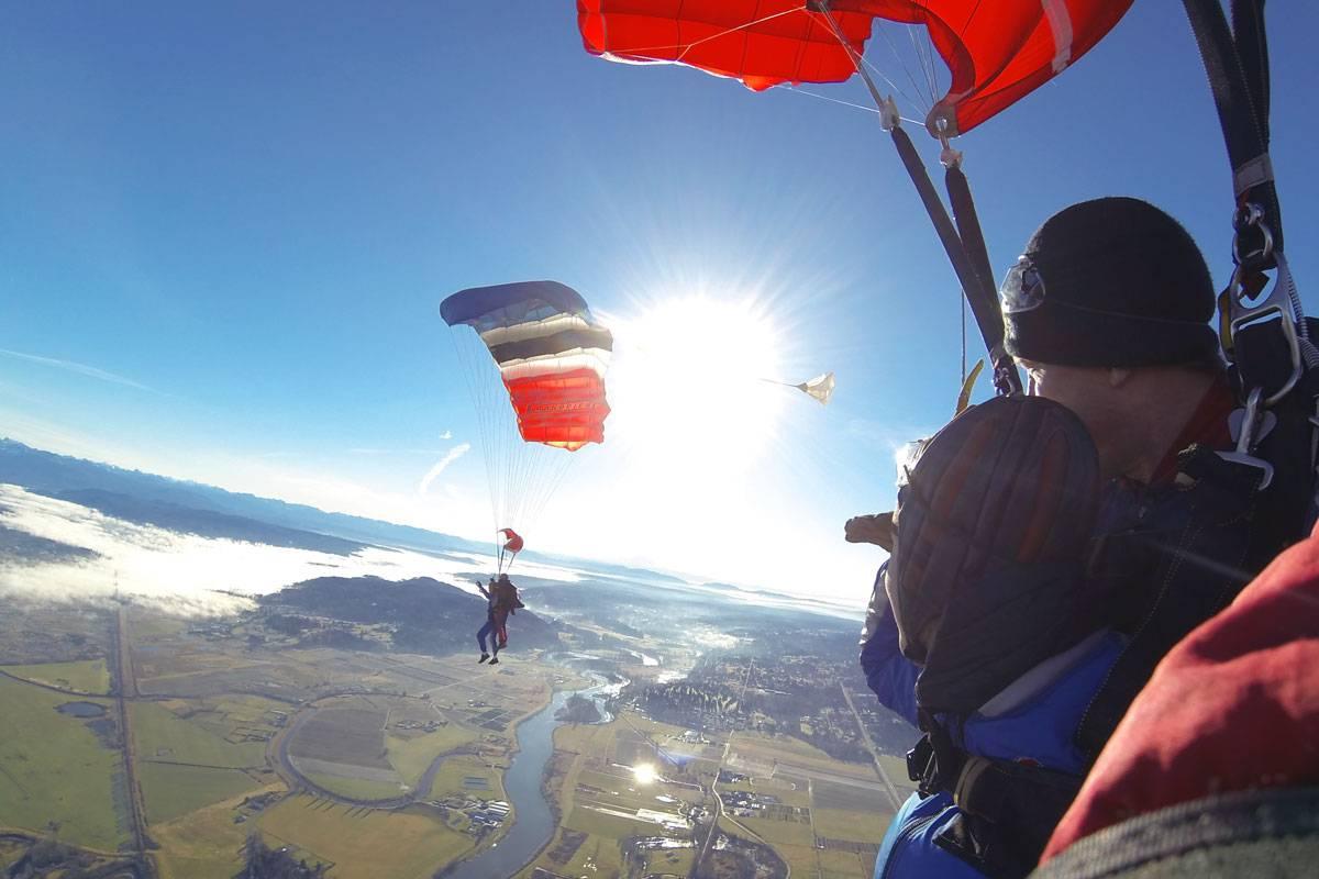 Seattle Tandem Skydiving