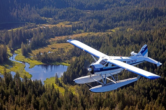 Ketchikan Flightseeing & Crab Feast