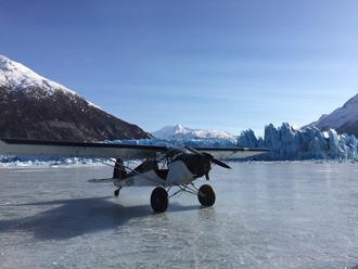 Anchorage Air Tour - Knik Glacier