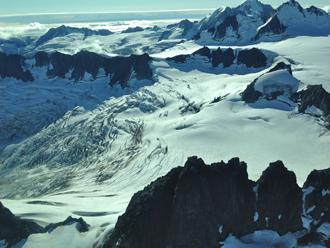Anchorage Air Tour - Triumvirate Glacier
