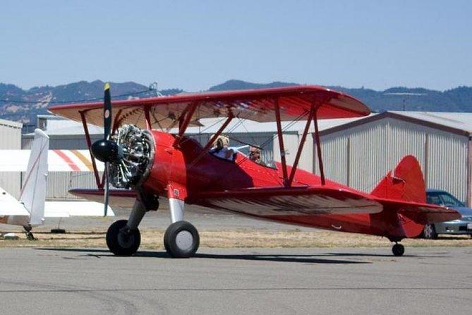 San Francisco Biplane Flight - Napa Sonoma Wine Tour