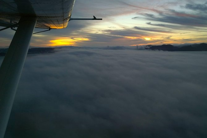 San Francisco Sunset Champagne Seaplane Tour