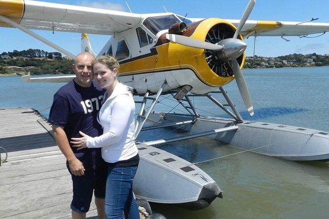 Private Romantic Sunset Seaplane Tour over San Francisco
