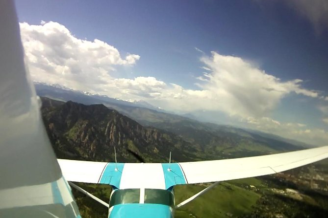 Private Scenic Airplane Tour Over Denver and the Rockies