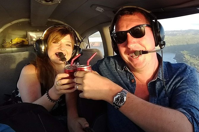Romantic Sunset Champagne Maui Air Tour: Intimate & Spectacular
