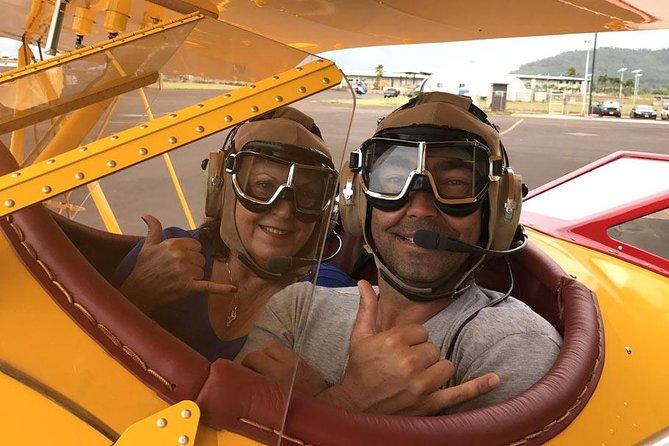 Vintage Biplane Tour of Kauai