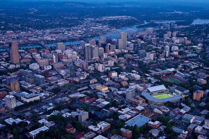 Aerial Tour of Portland