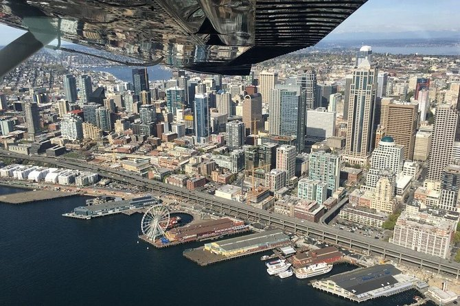Greater Seattle Scenic Airplane Tour