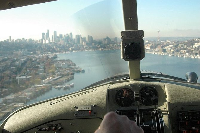 Lake Union Seaplane Flight From Seattle