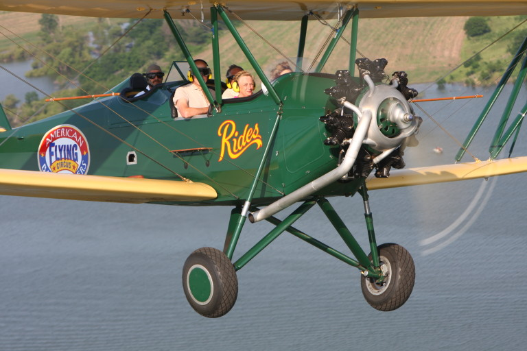 Brodhead Biplane Rides