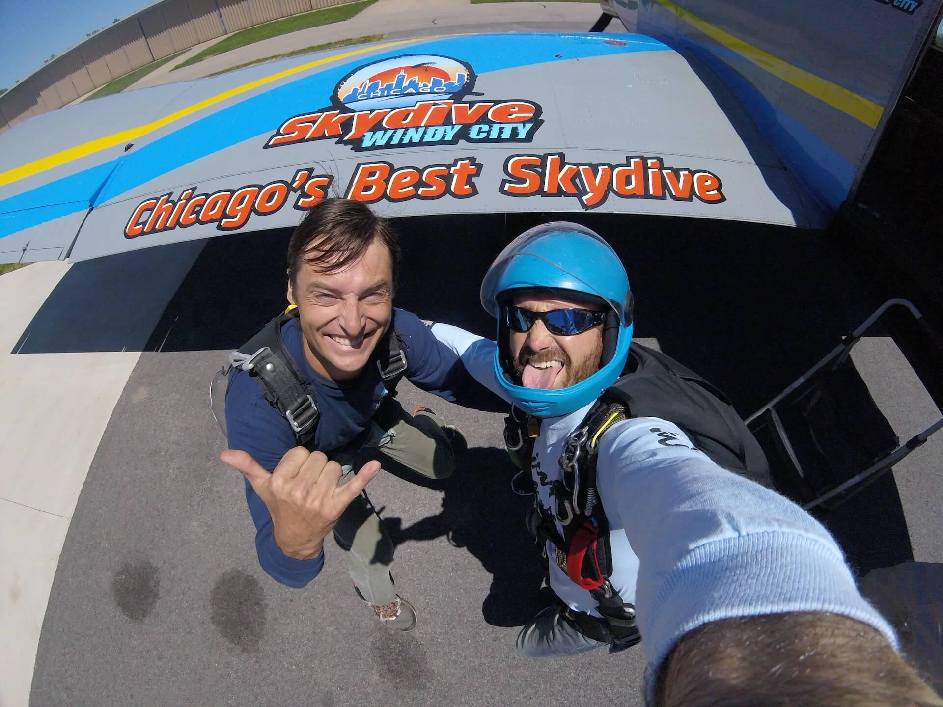 Tandem Skydive Windy City