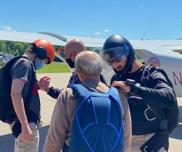 Tandem Skydiving in Allegan