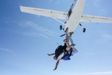 Tandem Skydive in Clinton