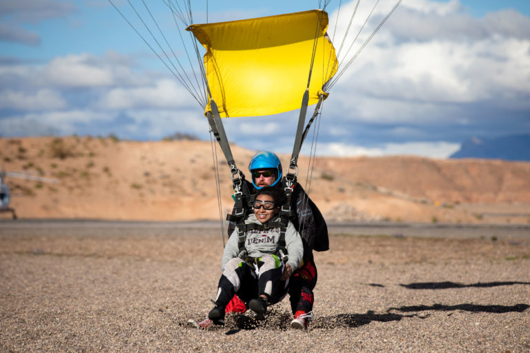 Tandem Skydiving in Mesquite