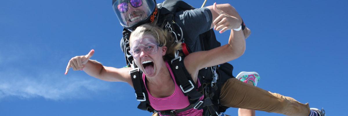 Tandem Skydive in Raeford