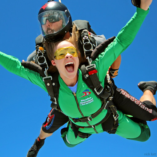 Tandem Skydiving in Whitewright