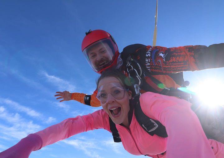 Tandem Skydiving in San Marcos