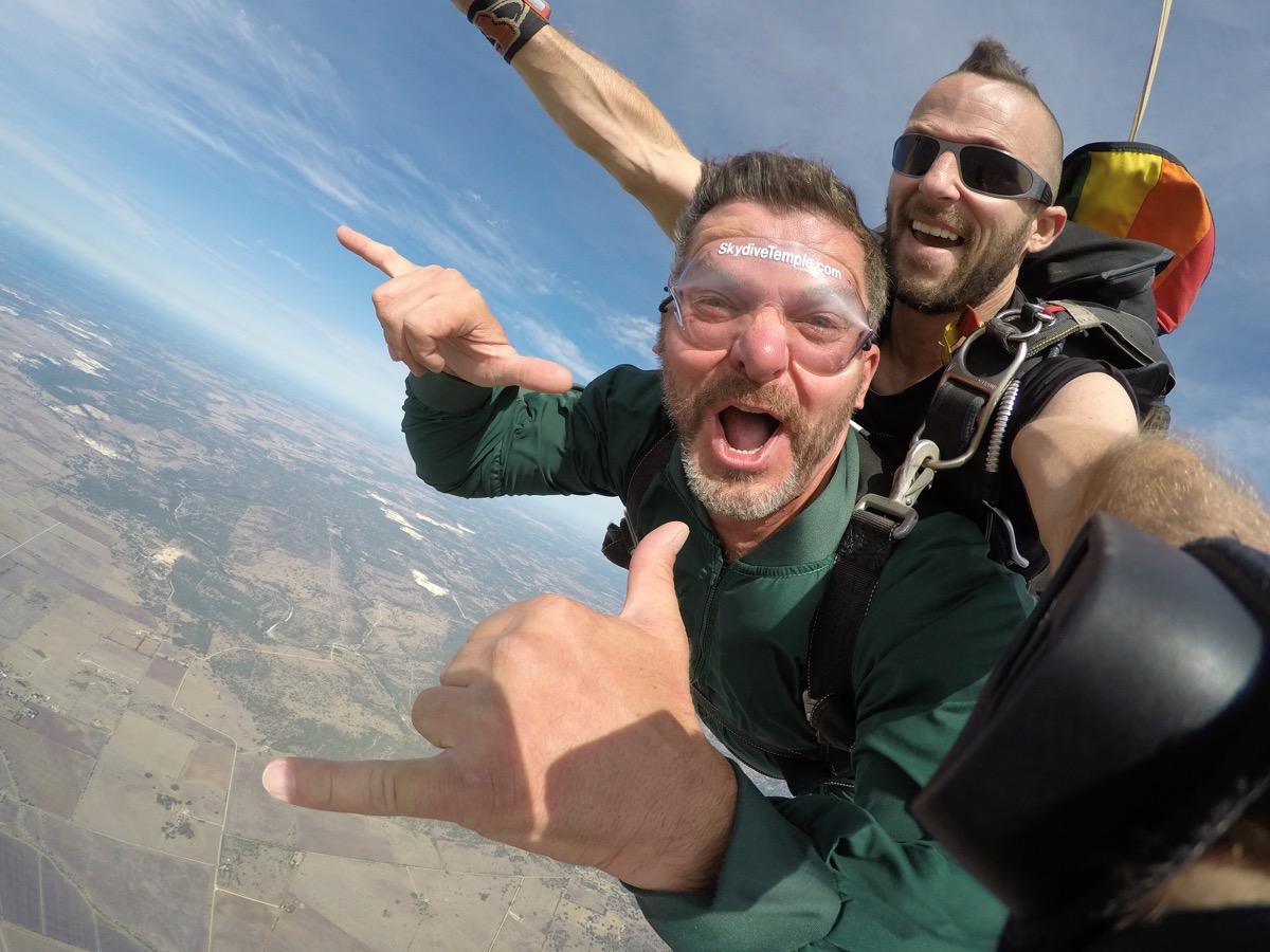Tandem Skydiving in Salado