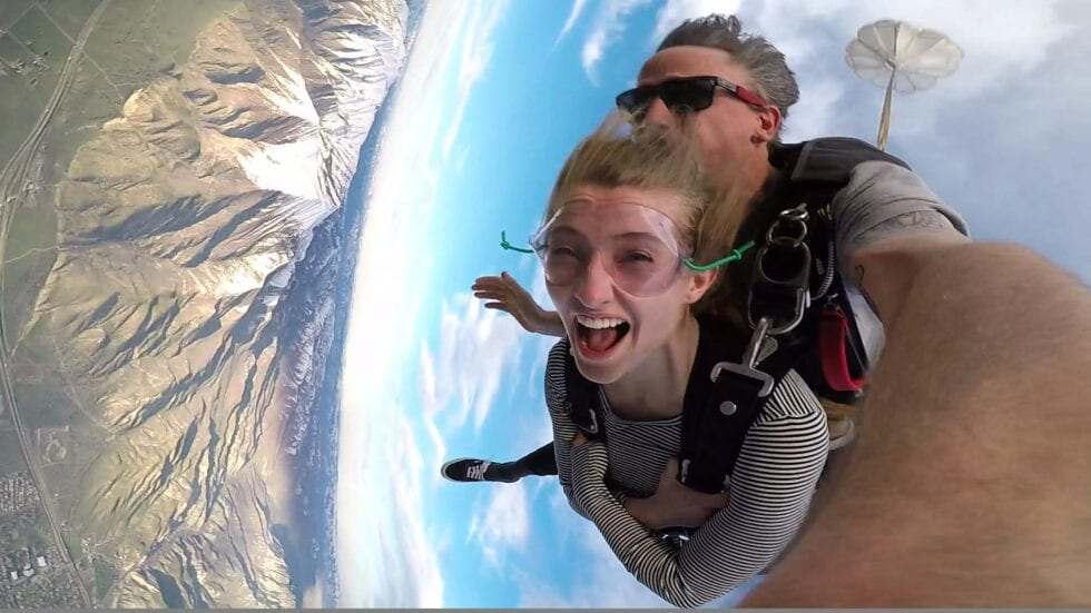 Tandem Skydiving with Skydive the Wasatch