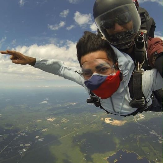 Tandem Skydiving with Boston Skydive Center
