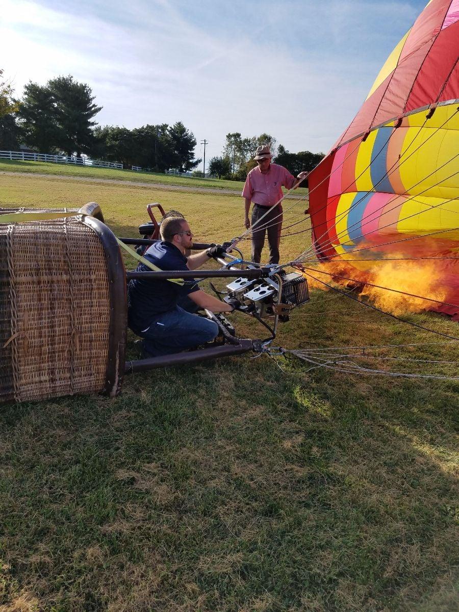 H.I. Flight Hot Air Balloon