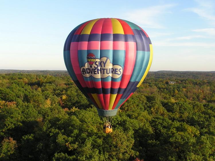 Hot Air Balloon Rides over Michigan