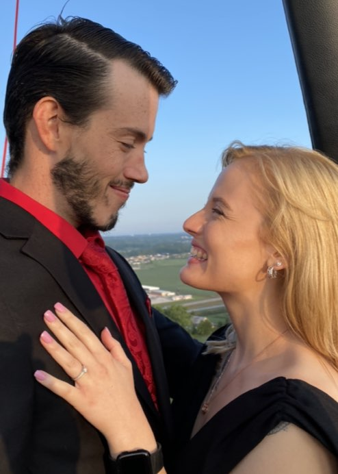 Velocity Hot Air Balloon Marriage Proposals