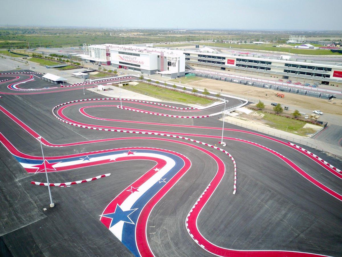ATX Heli F1 Circuit of the Americas Tour