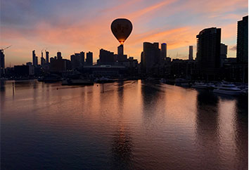 Liberty Balloon Flights in Melbourne