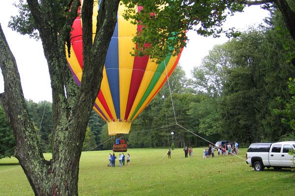 Hunterdon Ballooning - Sharing Flight