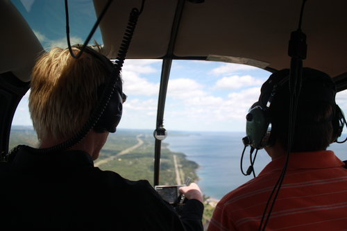 Lake Superior Helicopter Aerial Tour
