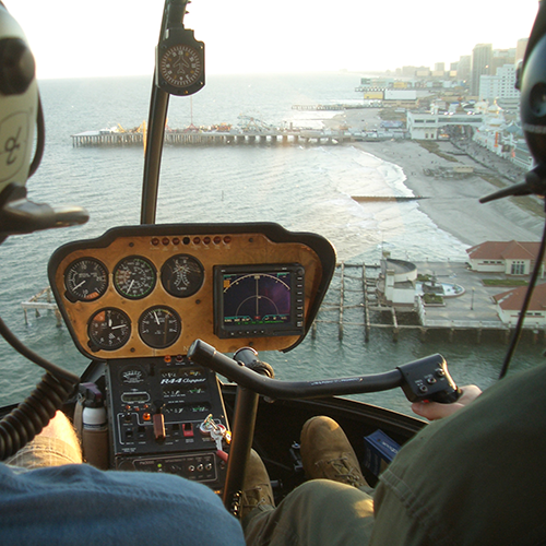 Steel Pier Helicopter City Tour