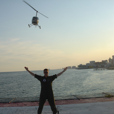 Steel Pier Helicopter Build Your Own Tour