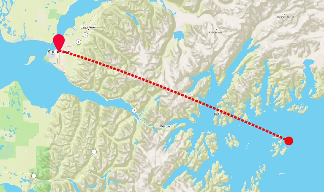 Prince William Sound Glacier Ride
