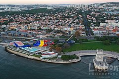 Lisbon Private Helicopter Tour: Fly over the Fly over the Belém Historic Quarter