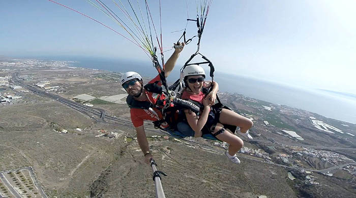Paragliding Expirience in Tenerife with Tenerfly