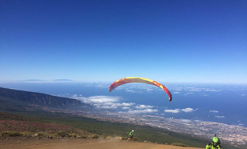 Paragliding Holidays in Tenerife with Para42