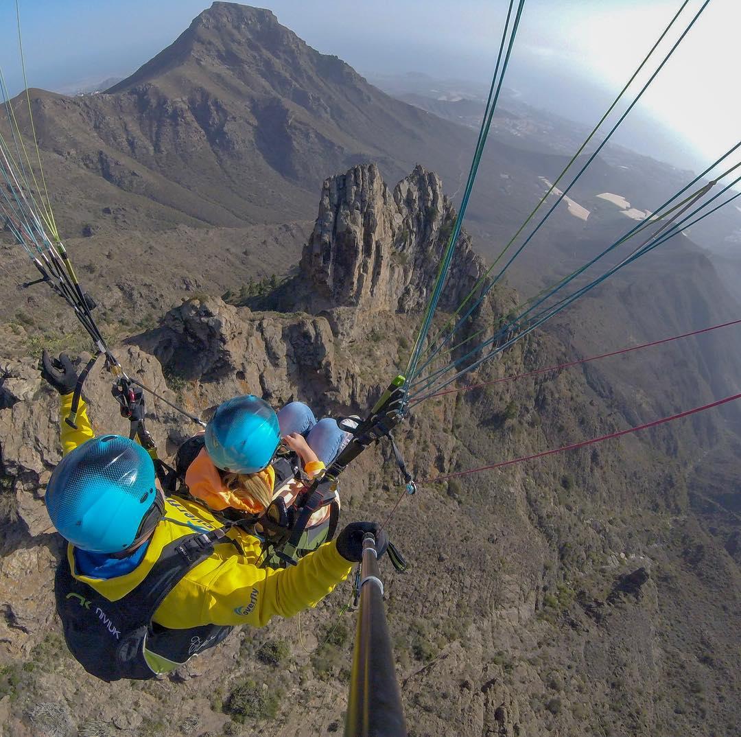 Paragliding in Tenerife - Overflytenerife