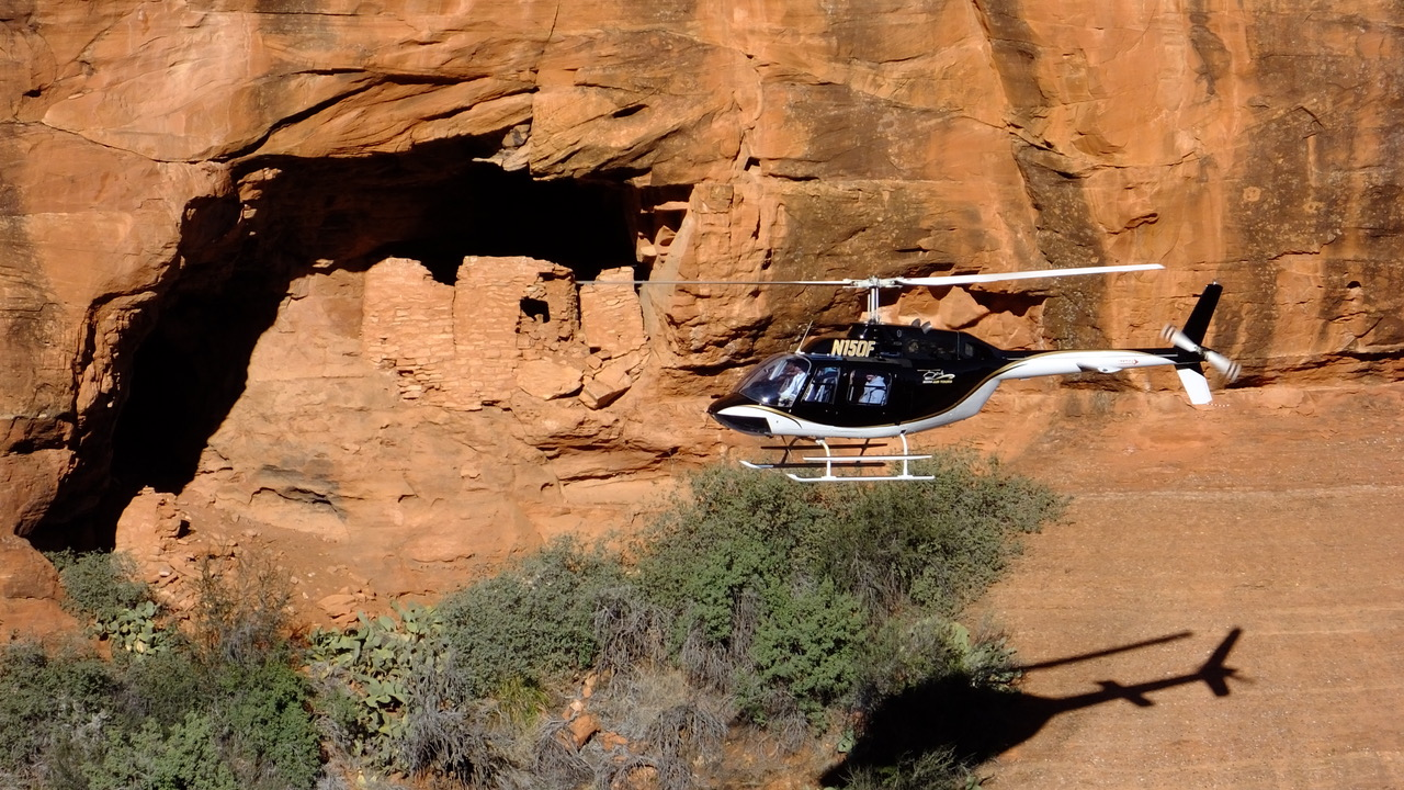 Ancient's Way – Helicopter Tour of Sedona