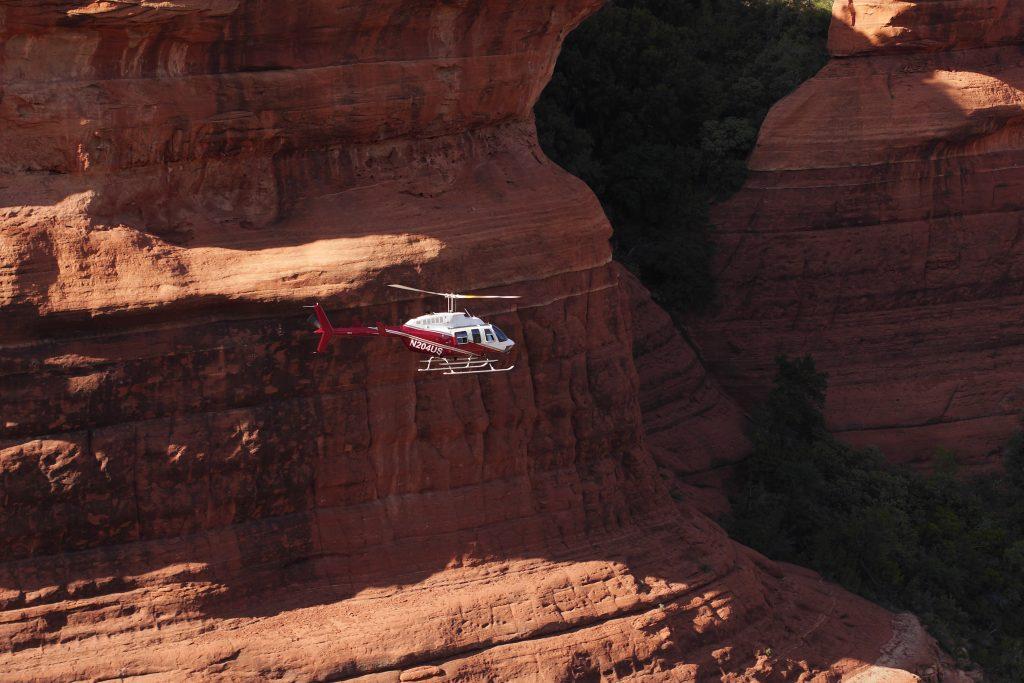 Hog Wild – Helicopter Tour of Sedona