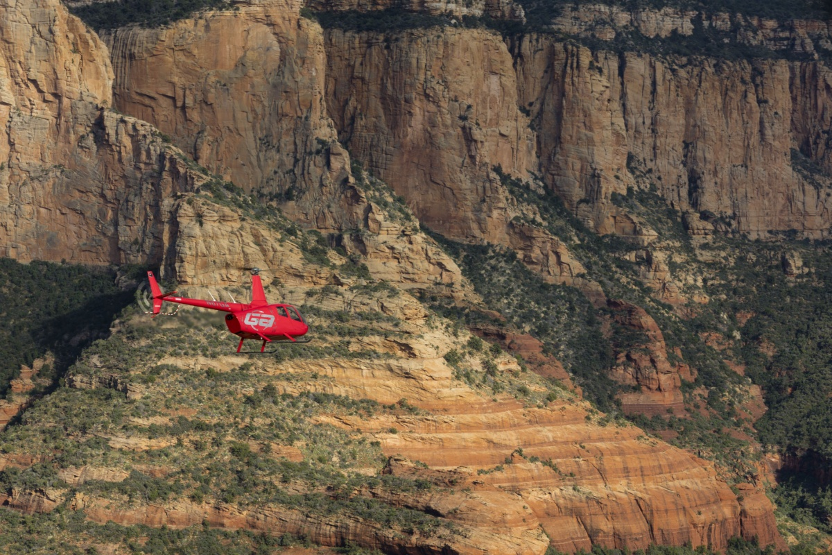 Cathedral Heicopter Tour by Guidance Air
